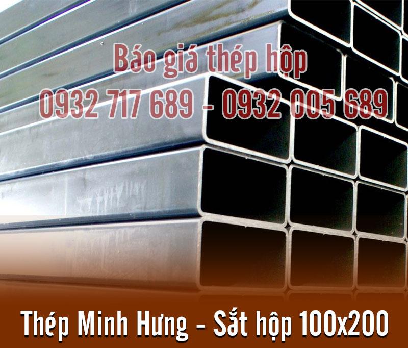 (Tiếng Việt) Thép hộp chữ nhật 100×200