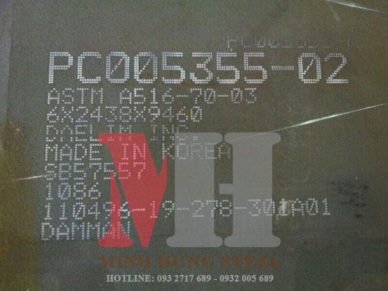thép tấm astm a516 gr70