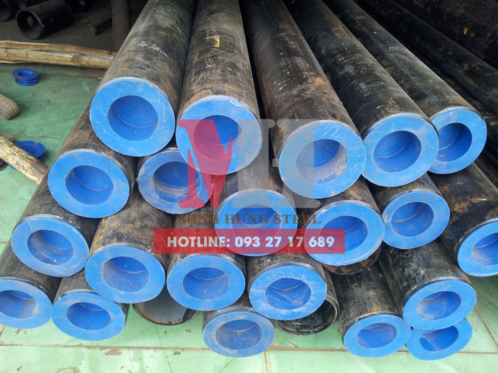 Thép ống hàn phi 610 dày 6.35ly,  9.53ly, 11.1ly, 14.27ly, 15.7ly, 24.6ly, 31.0ly, 52.4ly