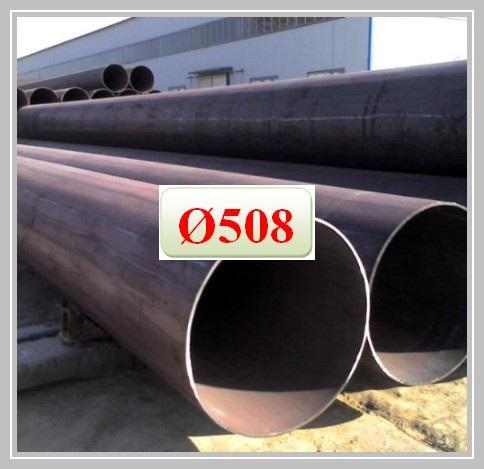 Thép ống hàn phi 508