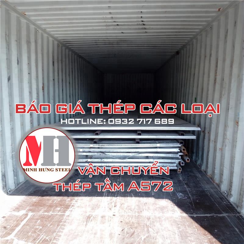 Thép tấm ASTM A572 Minh Hưng Bình Dương